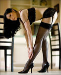 Black Stockings and Chairs