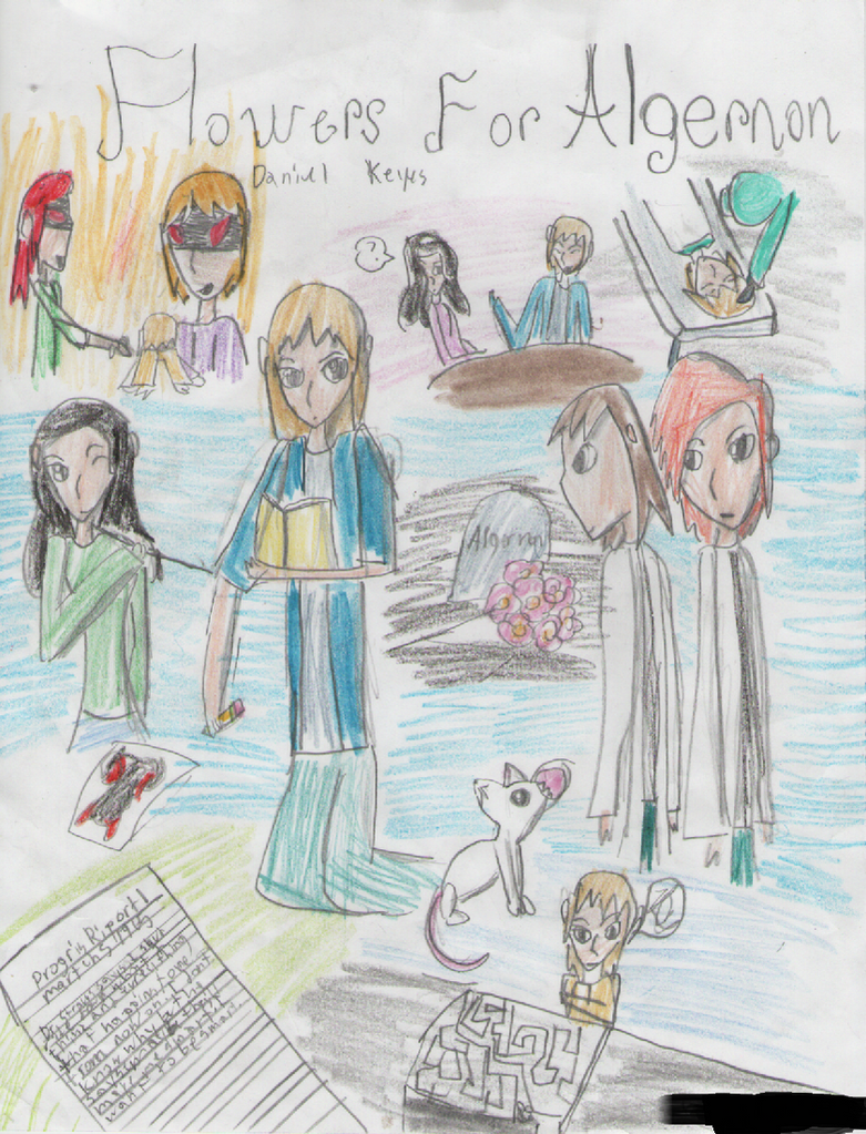 Flowers For Algernon Poster By Luigigirl65