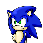 Sonic Test -By Kiwi-Sketch