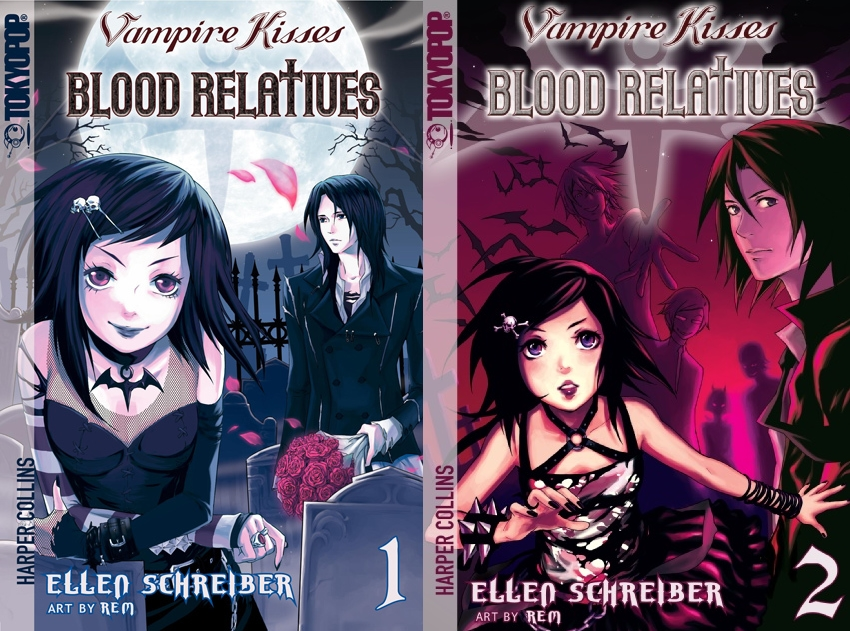 Vampire Kisses Volume 1 and 2 by Raven-Madison