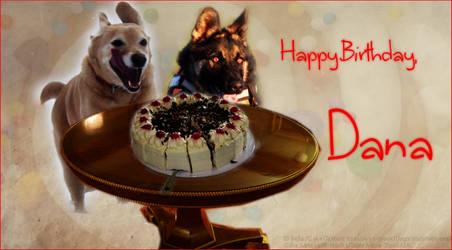 Happy Birthday , Dana by bluemju