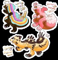 Sweet Treats|Snackodiles - CLOSED by CreamyGaIaxies