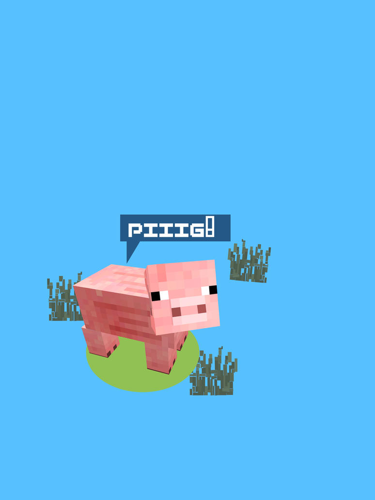 MINE SERIES PIG by PIMI1023