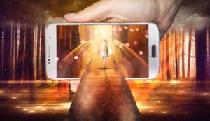 Phone World Photo Manipulation by onurado