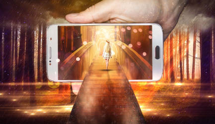 Phone World Photo Manipulation by onurado