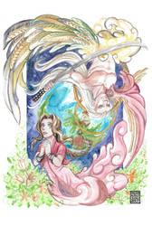 Lovers of the Planet by MushkiKizou-Art