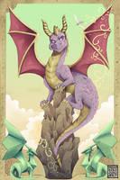 Spyro the Dragon by MushkiKizou-Art