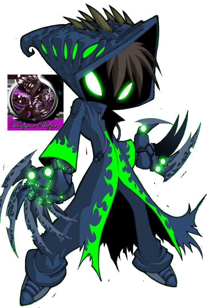 Grim Jr. Render by Kurogane-Raziel