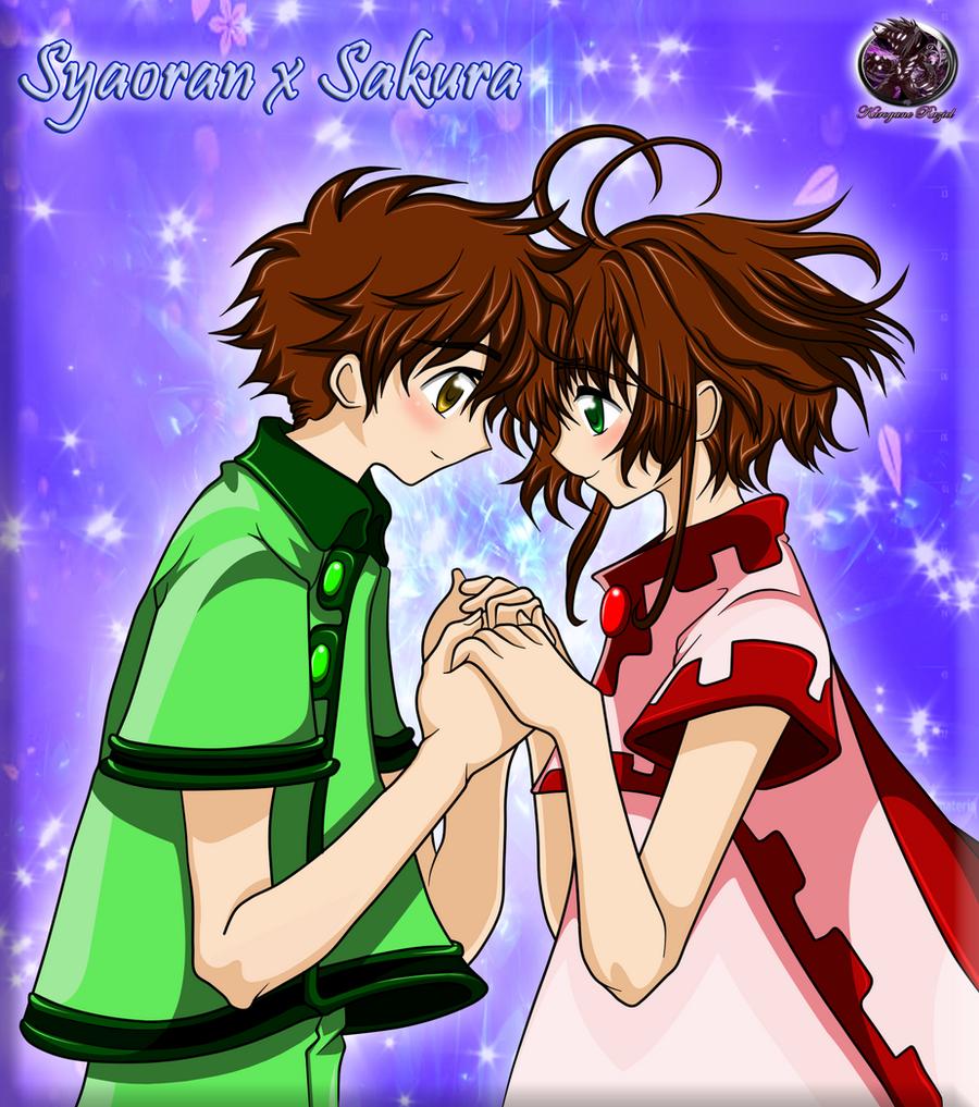 Sakura x Syaoran Colored by Kurogane-Raziel