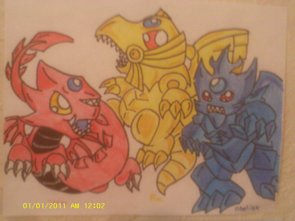 Yu Gi Oh Egyptian Gods By Darkhorse888 On Deviantart