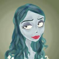 #inktoberday24 The corpse bride