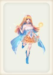 Magical girl, Luna by kazuki2013
