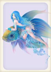 Magical girl, Iris by kazuki2013