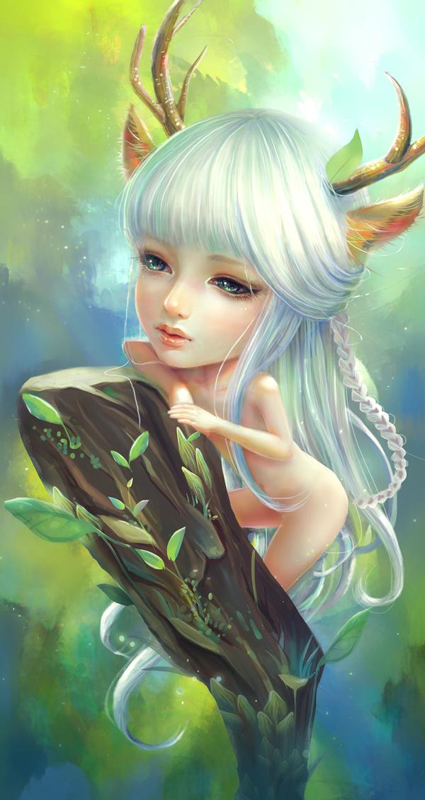 Elf of Forest by kazuki2013