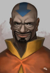 The Black Avatar by Animenifestor