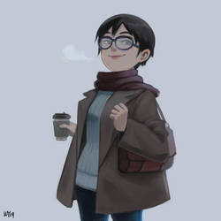 Coffee break by Animenifestor