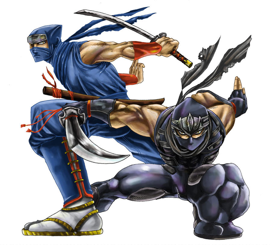 Ryu Hayabusa Ninja Gaiden By Zehb On Deviantart
