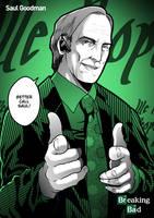 Saul Goodman - Breaking Bad Fanart by ZehB
