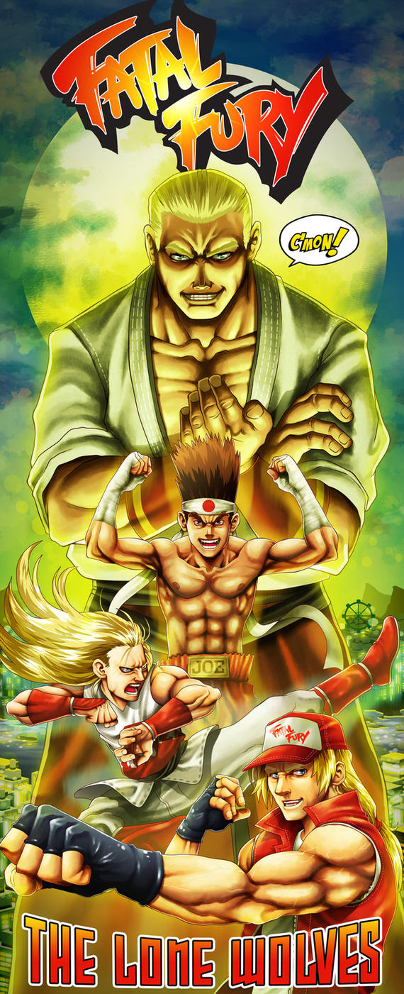 Lone Wolves from Fatal Fury by ZehB