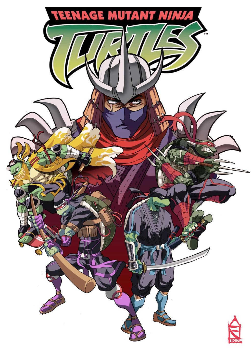 Teenage Mutant Ninja Turtles by ZehB on DeviantArt