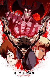 Devilman: Crybaby by ZehB