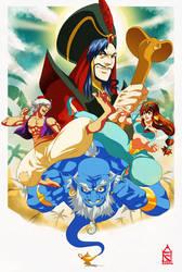 Aladdin by ZehB