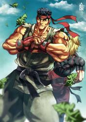 Ryu by ZehB