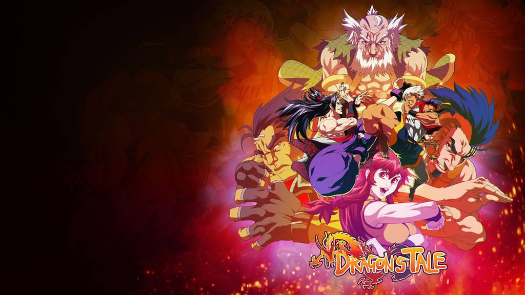 Dragon's Tale wallpaper by ZehB