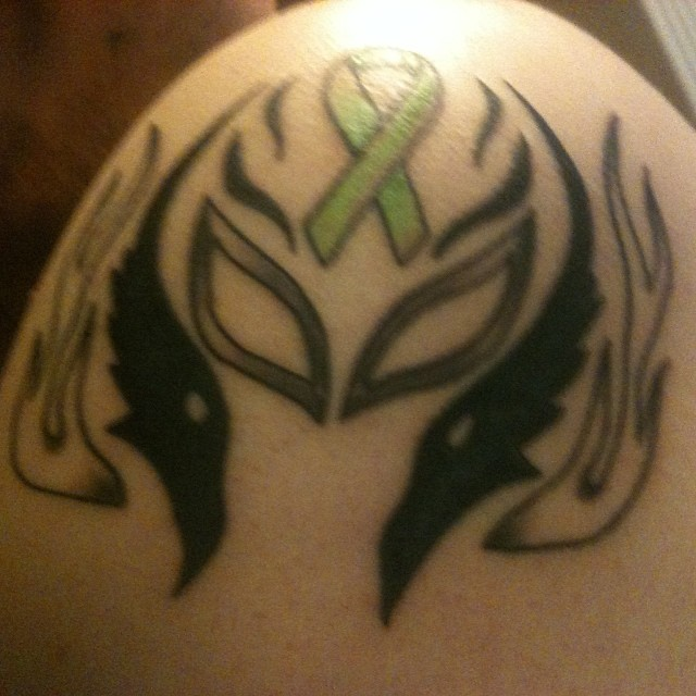 My rey mysterio tattoo by robert waites on deviantart for Rey mysterio tattoos