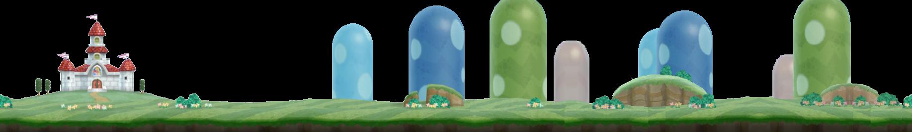 New Super Mario Bros Wii Overworld Bg 1 By Somarimarionicteam On
