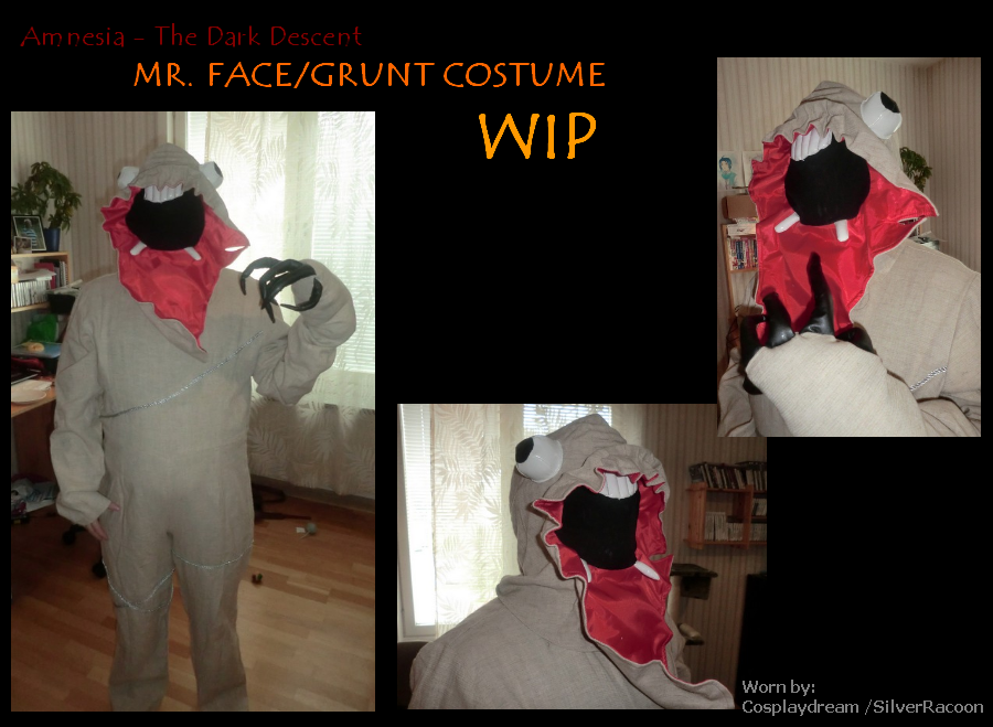 Amnesia - The Dark Descent Costume WIP by CosplayDream