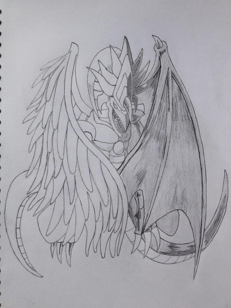 light and darkness dragon by dynomit272 on deviantart