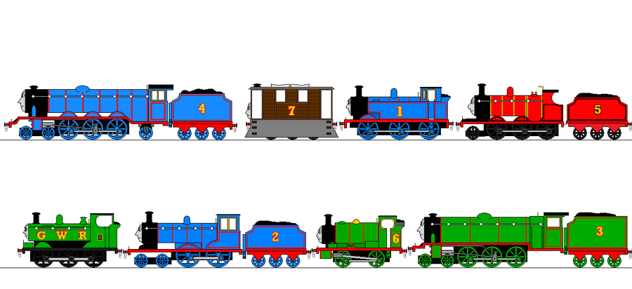 Tv Thomas And Friends Looks By Thebluee53