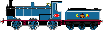 McIntosh 812 Class 0-6-0 of Caledonian Railway by thebluee53
