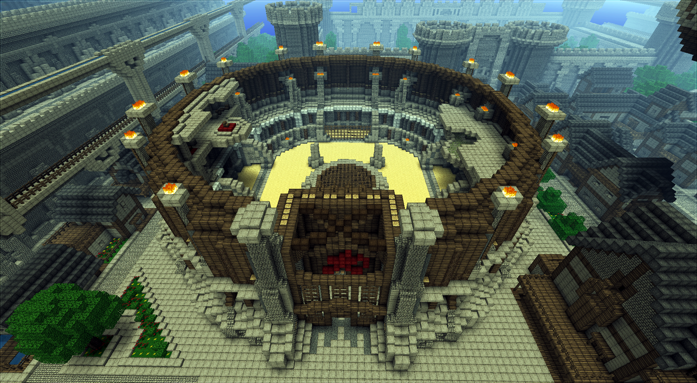 Imperial City Arena minecraft by Sir-Beret on DeviantArt