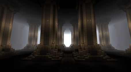 Oblivion Cathedral 1-minecraft by Sir-Beret