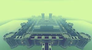 Fabul Castle FFIV in Minecraft