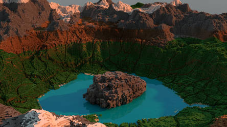 Crater Lake by Sir-Beret