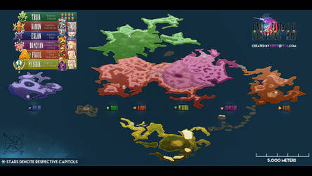 Political Map by Sir-Beret