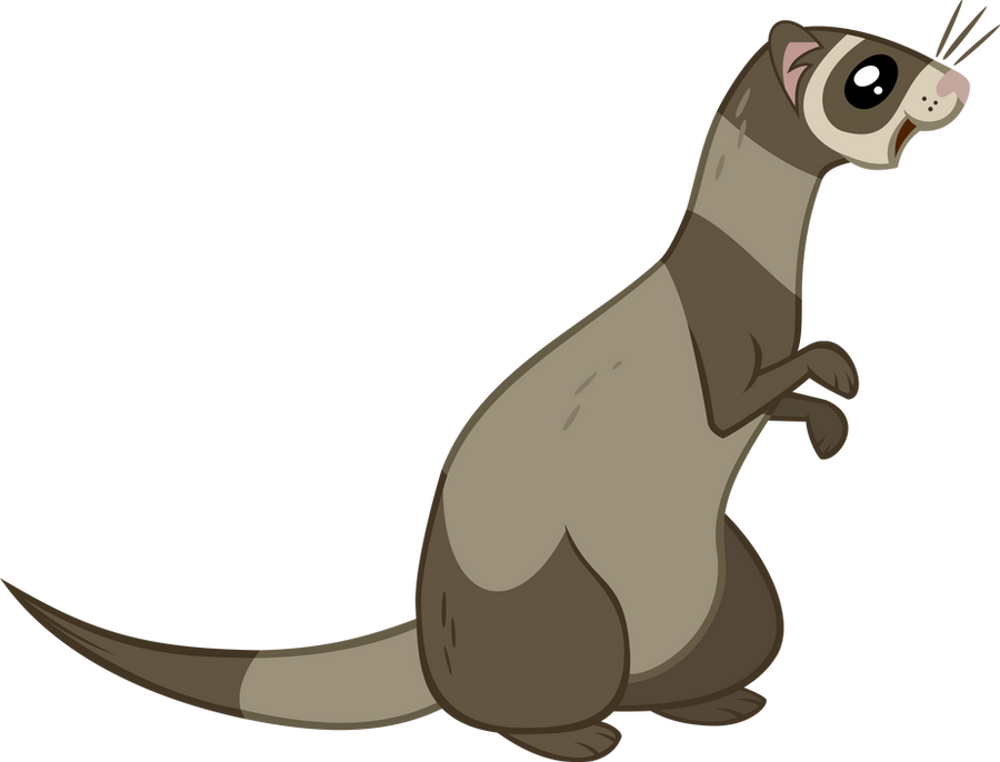 ferret vector by the intelligentleman on deviantart ferret clip art images ferret clip art cnc