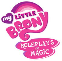 My Little Brony:Roleplays are Magic Logo by The-Intelligentleman