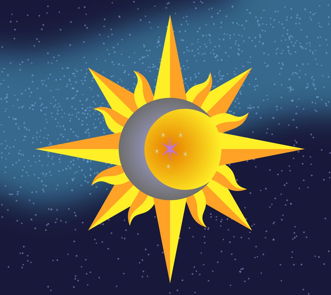 star background sun moon - photo #29