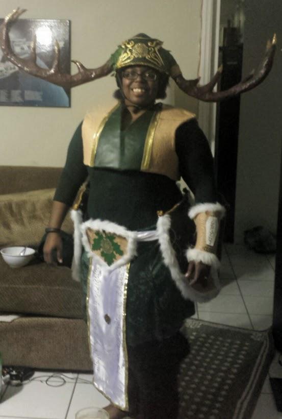 Thranduil's elk/satyr cosplay WIP 3 by Coagula