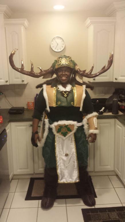 Thranduil's Elk cosplay Finished. by Coagula