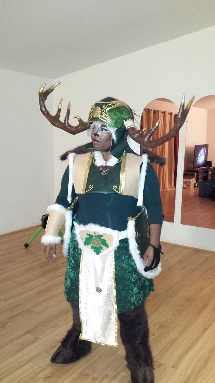 Thranduil's Elk with makup by Coagula