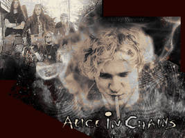 Alice In Chains by xomikhaila