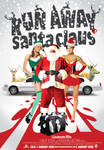 Run Away Santa Claus Poster