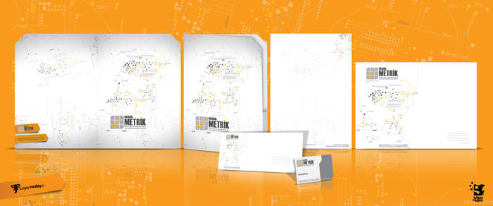 metrik corporate identity by operadevil69