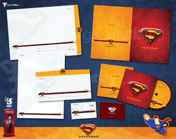 superman corporate identity by operadevil69