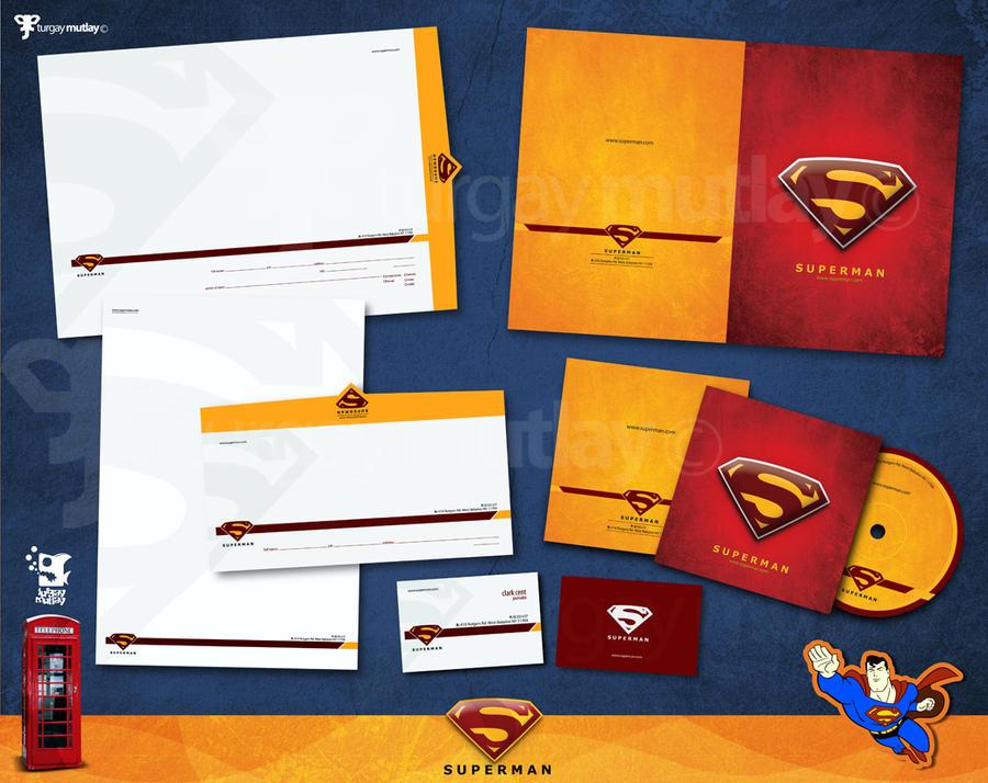 superman corporate identity by operadevil69